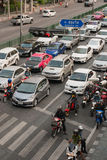 Traffic in Bangkok Stock Image
