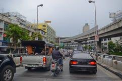 Traffic in Bangkok Royalty Free Stock Photography