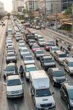 Traffic in Bangkok Royalty Free Stock Image