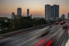 Traffic in Bangkok Royalty Free Stock Images