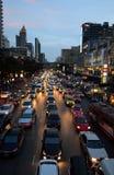 Traffic in Bangkok Royalty Free Stock Photo