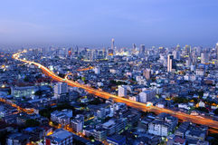 Traffic in Bangkok Stock Photo