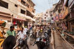 Traffic on Bansphatak Road Stock Photos