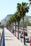 Traffic in Barcelona, Spain Royalty Free Stock Photography