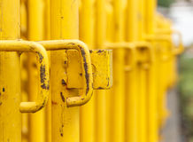 Traffic barrier. Close up traffic barrier royalty free stock images