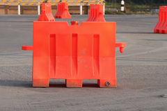Traffic barrier Stock Photography