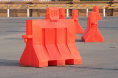 Traffic barrier Royalty Free Stock Images