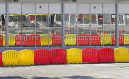 Traffic barrier Stock Photos