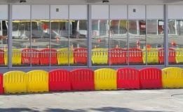 Traffic barrier Stock Photos