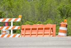 Traffic Barriers Stock Photos