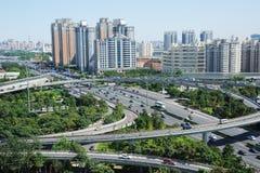 Traffic in beijing Stock Photos