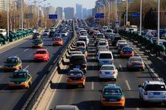 Traffic in Beijing Stock Photo