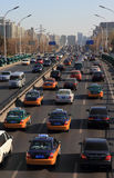 Traffic in Beijing Stock Image