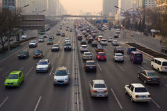 Traffic of Beijing Royalty Free Stock Photos