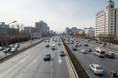 Traffic in beijing Royalty Free Stock Images
