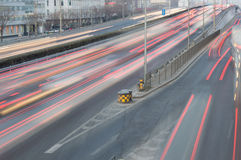 Traffic in beijing Royalty Free Stock Photos