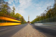 Traffic in Berlin Royalty Free Stock Photography