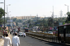 Traffic of Bhopal Royalty Free Stock Photography