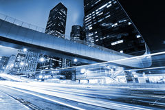 Traffic with blur light Royalty Free Stock Photos