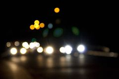Traffic bokeh Royalty Free Stock Image