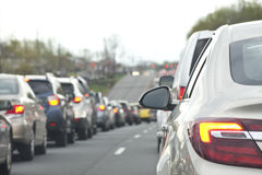 Traffic Break Lights Stock Photos