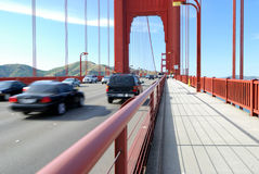 Traffic On Bridge Stock Images