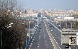 Traffic bridge Royalty Free Stock Images