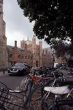 Traffic in cambridge uk Royalty Free Stock Photography