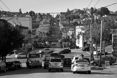 Traffic in the Castro Stock Images