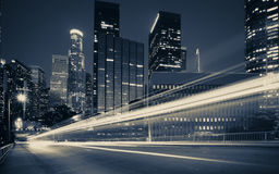 Traffic into the city Royalty Free Stock Photography