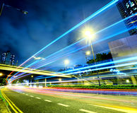 Traffic in city Royalty Free Stock Photography