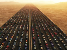 transport collapse Royalty Free Stock Photo