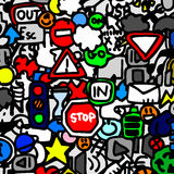 Traffic color wallpaper Royalty Free Stock Image