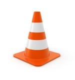 Traffic cone vector illustration