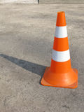 A traffic cone Royalty Free Stock Photography