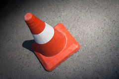 Traffic cone. Royalty Free Stock Photos