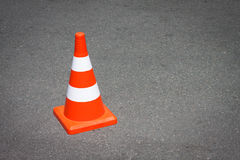 Traffic cone. Royalty Free Stock Images