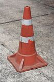 Traffic cone on bitumen pavement Stock Images