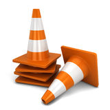 Traffic cone Royalty Free Stock Photo