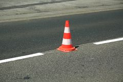 Traffic cone Stock Photography