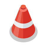 Traffic Cone Icon Royalty Free Stock Images