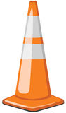 Traffic Cone illustration Royalty Free Stock Image