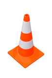 Traffic cone. Isolated included clipping path Royalty Free Stock Photos