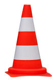 Traffic cone isolated on white background, clippig path Royalty Free Stock Photo