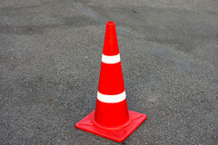 Traffic cone. No parking cone Stock Photography