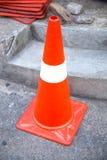 Traffic cone. Stock Photos