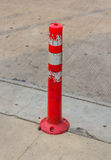 Traffic cone on the road Royalty Free Stock Image