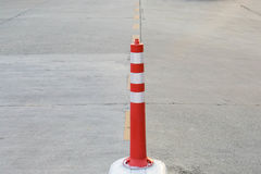 Traffic cone on the road Stock Photos