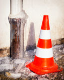Traffic cone Royalty Free Stock Photography