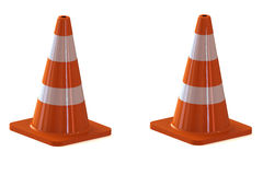 Traffic cone for to road. Traffic cone for to all road Stock Photography
